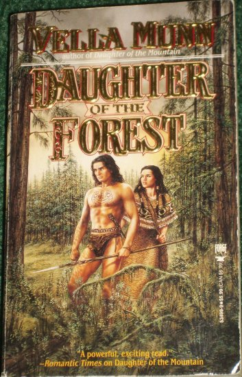 Daughter of the Forest by VELLA MUNN Historical Indian Romance 1995
