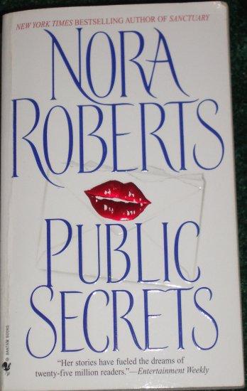 Public Secrets by Nora Roberts 1998 Hot Romantic Suspense