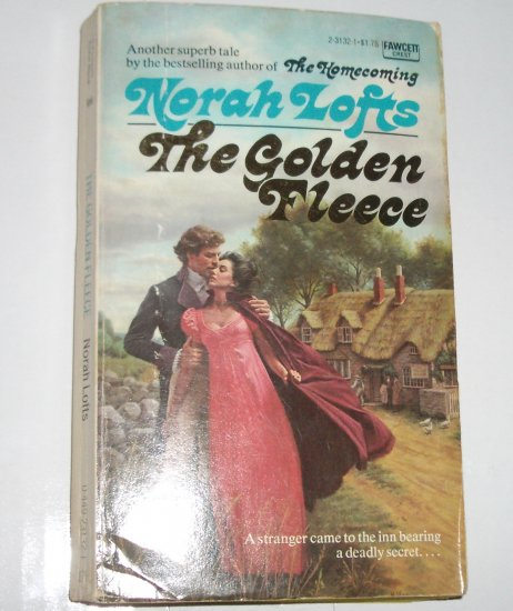 The Golden Fleece by NORAH LOFTS Historical English Gothic Romance and Suspense 1972