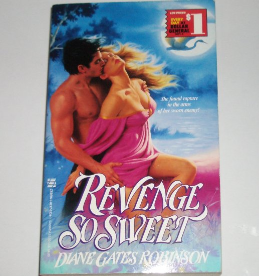 Revenge So Sweet by DIANE GATES ROBINSON Zebra Heartfire Creole Historical Western Romance 1991