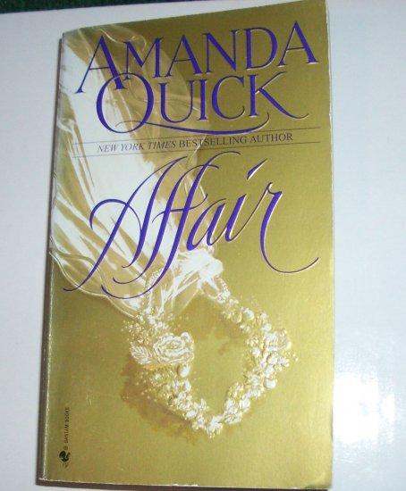 Affair by AMANDA QUICK Historical Regency Romance 1998