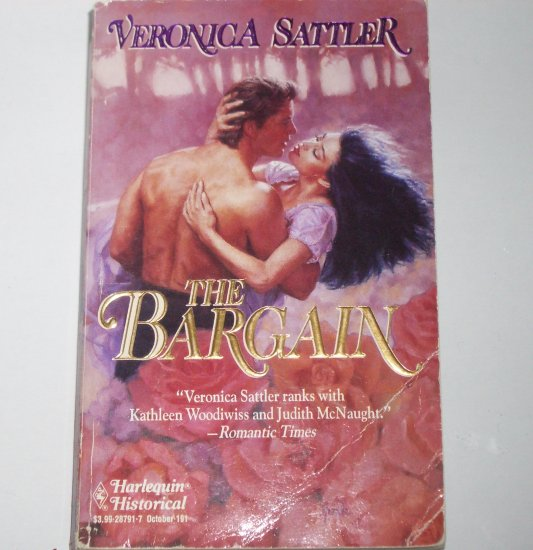 The Bargain by VERONICA SATTLER Harlequin Historical Regency Romance 1993