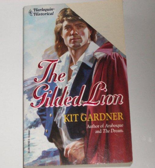 The Gilded Lion by KIT GARDNER Harlequin Historical Regency Romance #193 1993