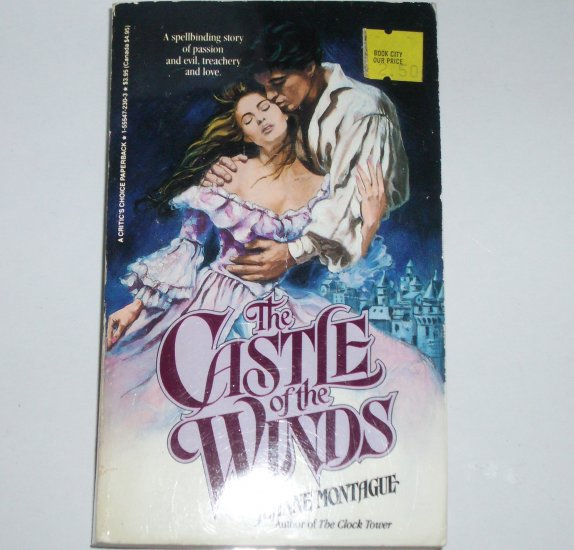 The Castle of the Winds by JEANNE MONTAGUE Historical Victorian Romance 1988