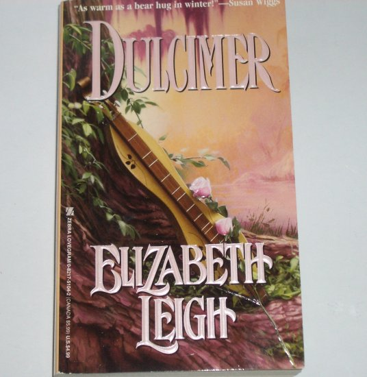 Dulcimer by ELIZABETH LEIGH Zebra Lovegram Historical Romance 1995