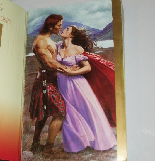 The Heir by JOHANNA LINDSEY Historical Scottish Romance 2001