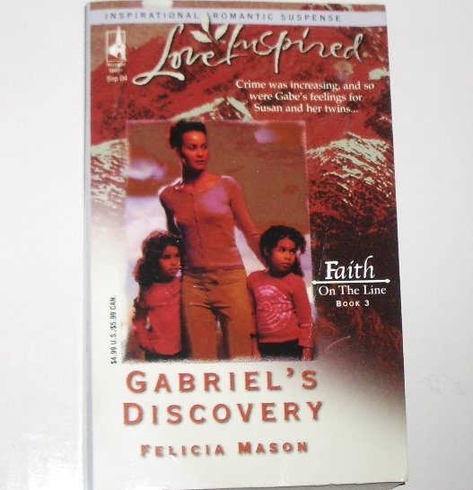 Gabriel's Discovery by Felicia Mason Love Inspired Christian Romantic Suspense 2004