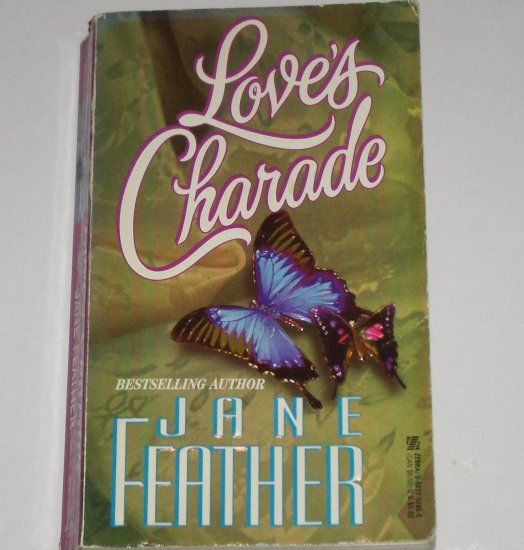 Love's Charade by JANE FEATHER Historical French Revolution Romance Paperback 1986