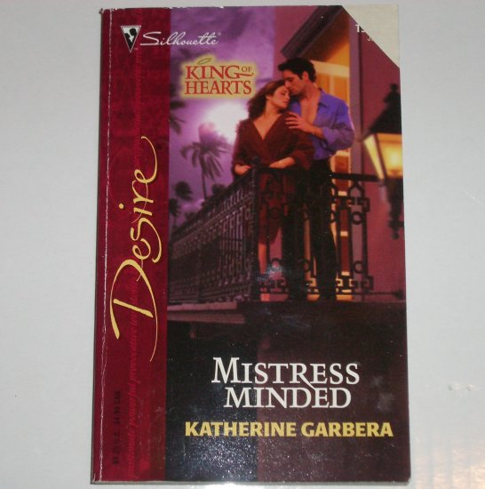 Mistress Minded by KATERHINE GARBERA Silhouette Desire 1587 Jun04 King of Hearts