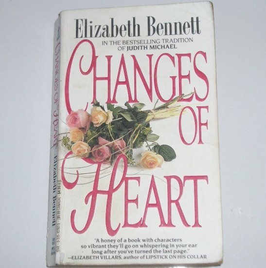 Changes of Heart by ELIZABETH BENNETT Romance Paperback 1992