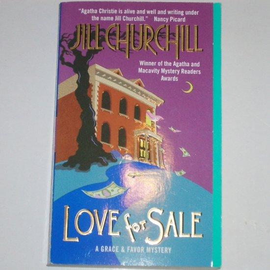 Love for Sale by JILL CHURCHILL A Grace & Favor Cozy Mystery Paperback 2004