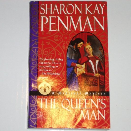 The Queen's Man by SHARON KAY PENMAN Medieval Mystery Paperback 2000
