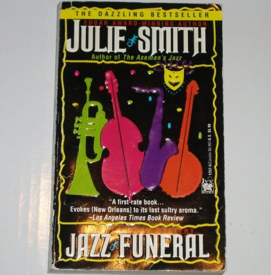 Jazz Funeral by JULIE SMITH Skip Langdon Mystery Paperback 1994