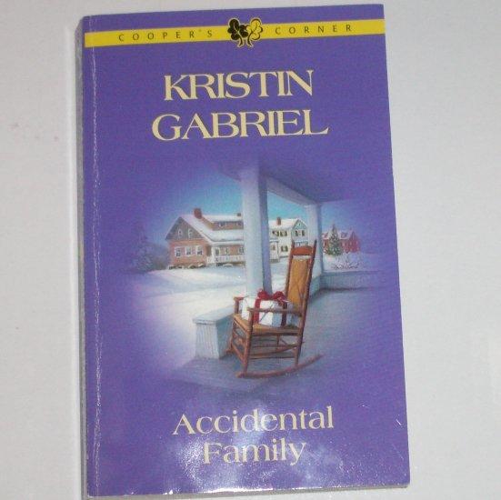 Accidental Family by KRISTIN GABRIEL Harlequin Romance Cooper's Corner 2002