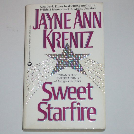 Sweet Starfire by JAYNE ANN KRENTZ Paranormal Romance Paperback 1994