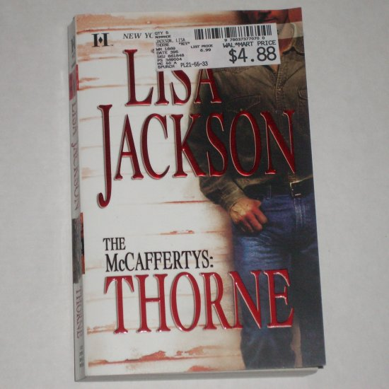 The McCaffertys Thorne by Lisa Jackson McCafferty Brothers Paperback Romance 2000