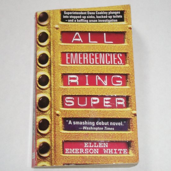 All Emergencies Ring Super by ELLEN EMERSON WHITE Mystery Paperback 1997
