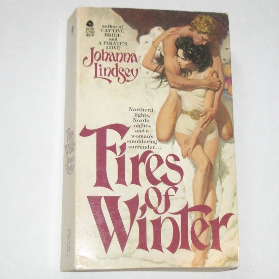 Fires of Winter by Johanna Lindsey Historical Viking Romance Paperback 1980