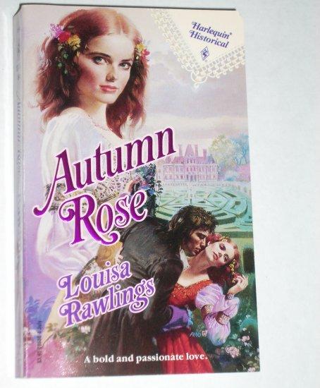 Autumn Rose by LOUISA RAWLINGS Harlequin Historical French Renaissance Romance No 86 Jul91