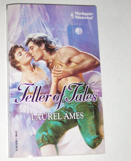 Teller of Tales by LAUREL AMES Harlequin Historical Regency Romance No 163 Mar93