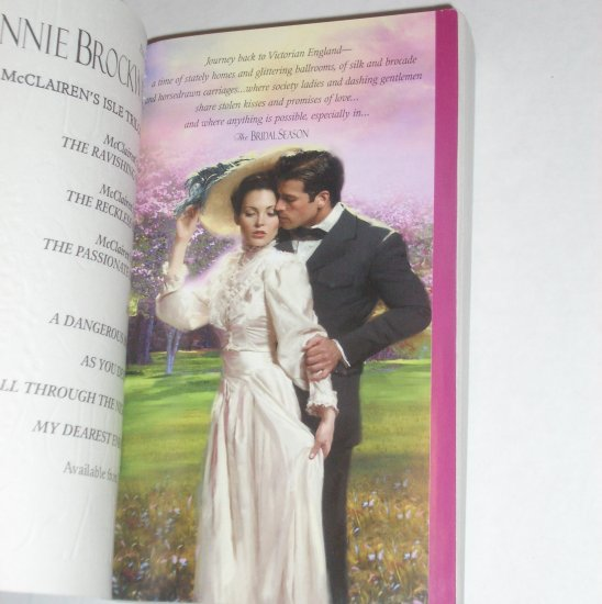The Bridal Season by CONNIE BROCKWAY Historical Victorian Romance 2001 Bridal Series