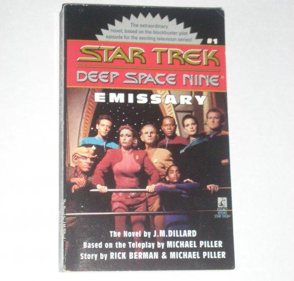 Emissary Star Trek Deep Space Nine #1 by J.M. DILLARD