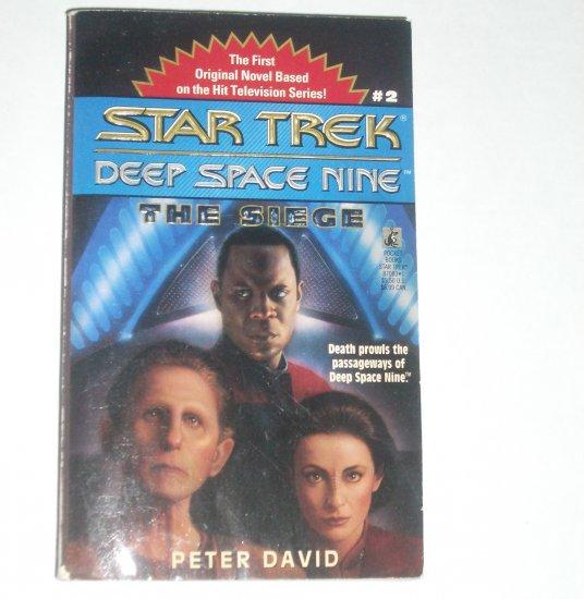The Siege Star Trek Deep Space Nine #2 by PETER DAVID