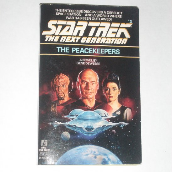 The Peacekeepers ~ Star Trek The Next Generation #2 by GENE DEWEESE