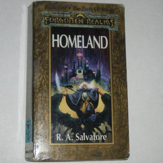 Homeland Forgotten Realms by R.A. SALVATORE The Dark Elf Trilogy, Book 1