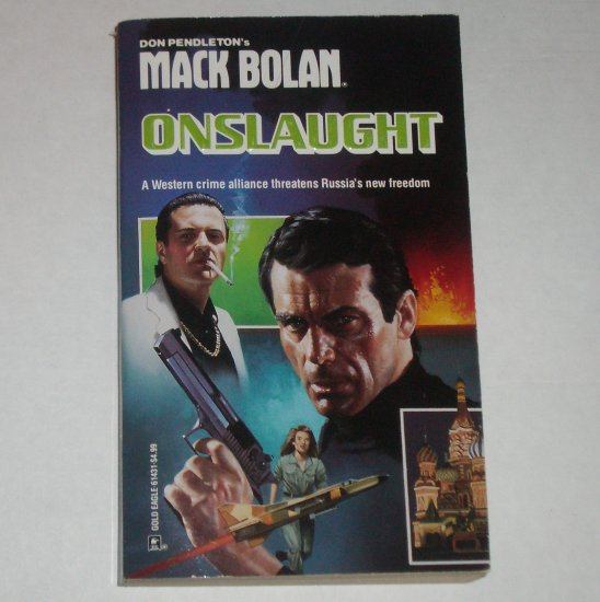 Onslaught by DON PENDLETON A Mack Bolan Book Superbolan No 31