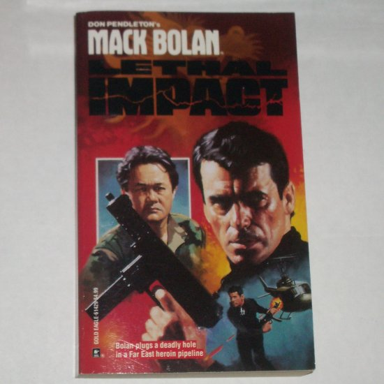 Lethal Impact by DON PENDLETON A Mack Bolan Book Superbolan 29 1992