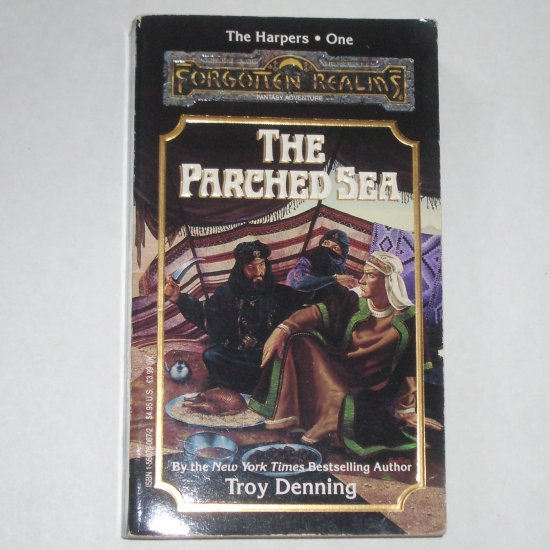 The Parched Sea by TROY DENNING Forgotten Realms The Harpers #1 1991