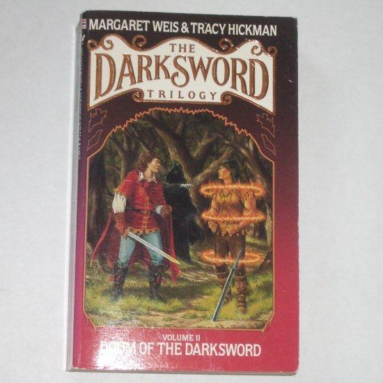 Doom of the Darksword by Margaret Weis, Tracy Hickman 1988 Darksword Trilogy