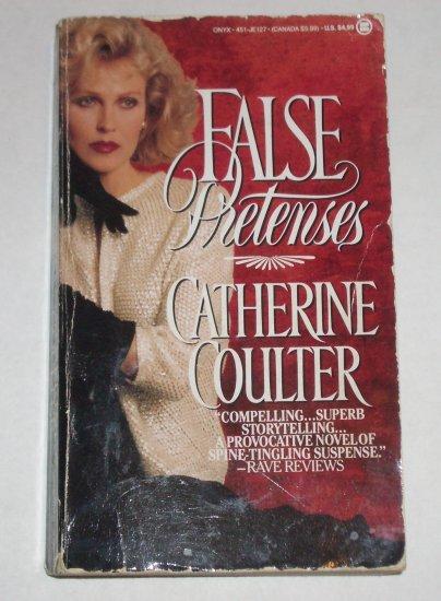 False Pretenses by CATHERINE COULTER Romantic Suspense Paperback 1989