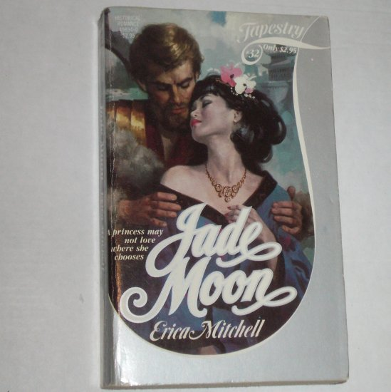 Jade Moon by ERICA Erica Mitchell Historical Exotic Romance Paperback 1984
