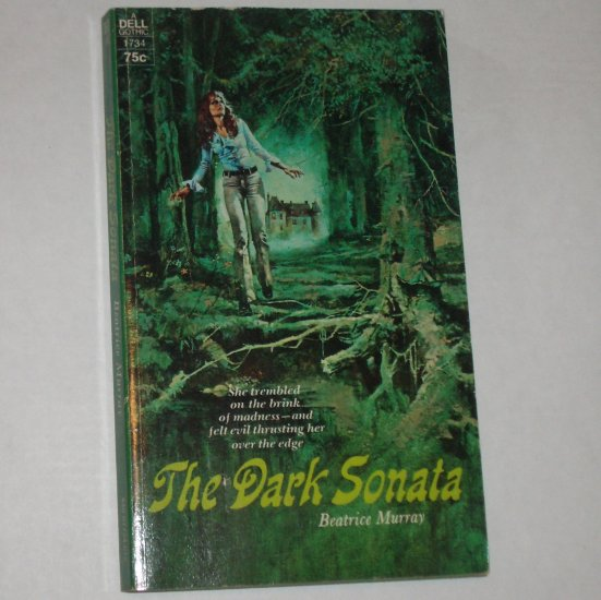 The Dark Sonata by BEATRICE MURRAY Vintage Dell 1972