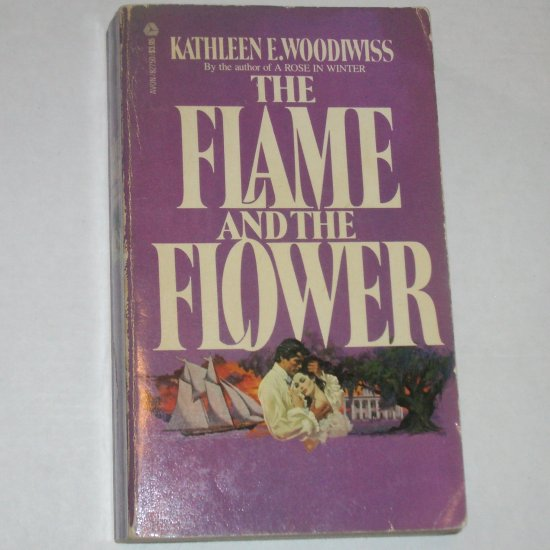 The Flame and the Flower Kathleen E. Woodiwiss Pirate Romance 1972 Birmingham Family Series