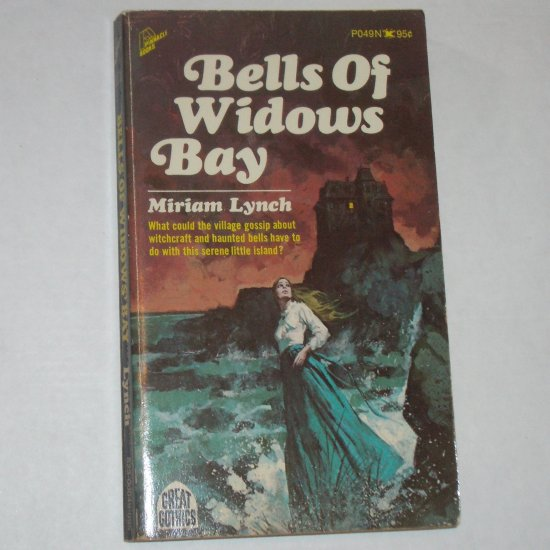 Bells of Widows Bay by MIRIAM LYNCH Vintage Gothic Romance 1971