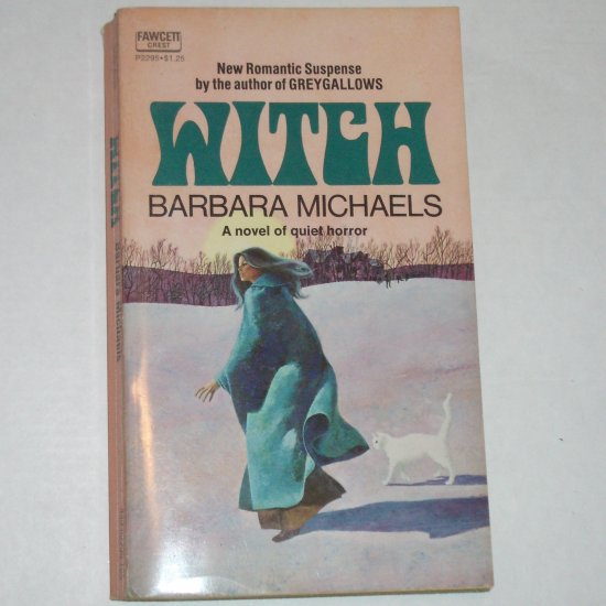 Witch by BARBARA MICHAELS Fawcett Crest Romantic Suspense 1974