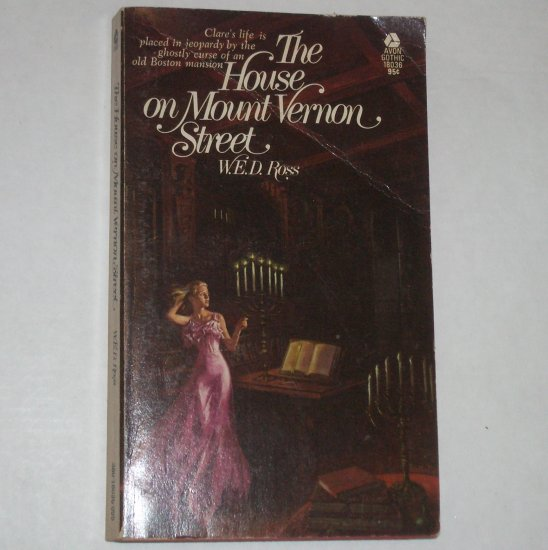 The House on Mount Vernon Street by W.E.D. ROSS Vintage Gothic Thriller 1974
