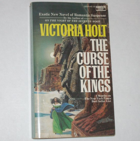 The Curse of the Kings by Victoria Holt Vintage Paperback 1974