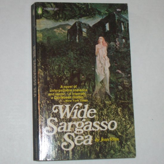Wide Sargasso Sea by JEAN RHYS Gothic Romance Paperback First Edition 1966