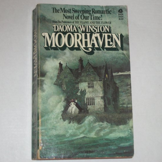 Moorhaven by DAOMA WINSTON Gothic Romance 1973