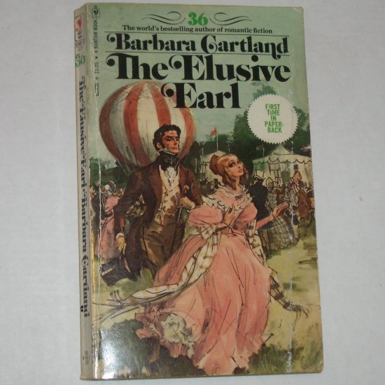 The Elusive Earl by BARBARA CARTLAND 1976