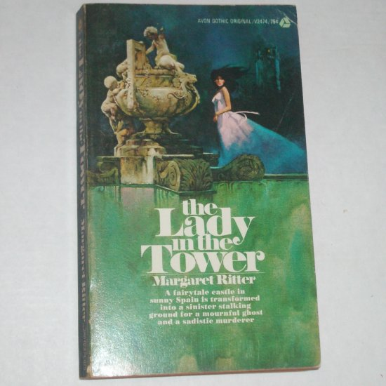 The Lady in the Tower by Margaret Ritter Gothic Romance 1972