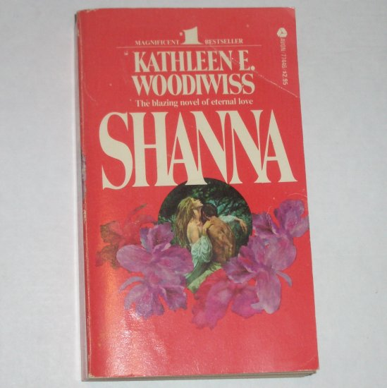Shanna by Kathleen E. Woodiwiss Historical Colonial Romance 1977