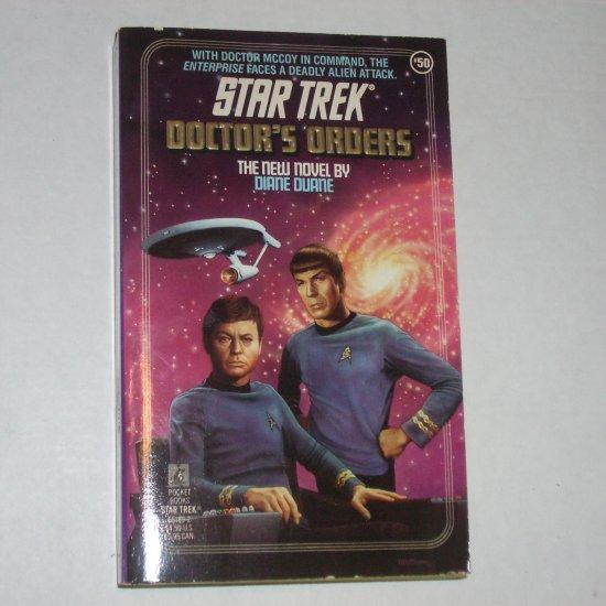 Doctor's Orders ~ Star Trek Original Series #50 by DIANE DUANE