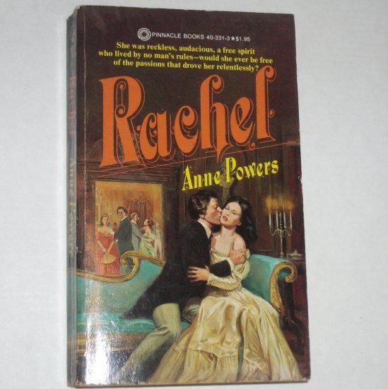 Rachel by ANNE POWERS 1978 Historical Parisian Romance