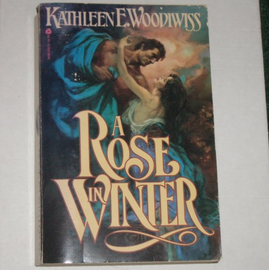A Rose in Winter Kathleen E. Woodiwiss Historical English Romance Trade Size 1983 A Top Pick
