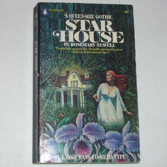 Star House by ROSEMARY NEWELL Gothic Romance & Suspense 1973